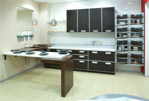 现代时尚厨房设计效果图