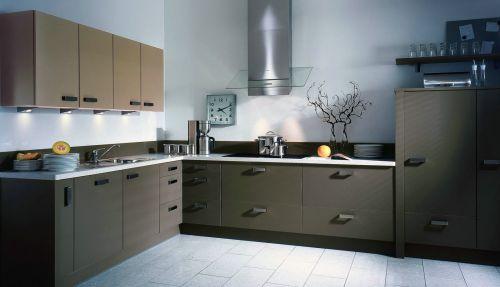 经典简约厨房装修设计效果图