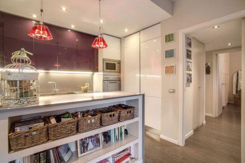 开放空间现代风格厨房装修设计