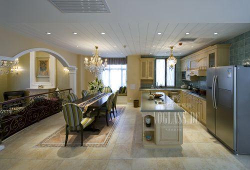 现代简约别墅厨房装修图片欣赏