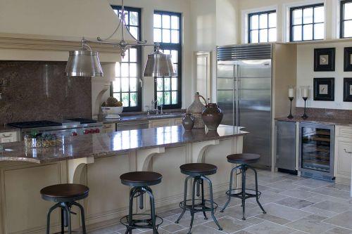 时尚前卫现代风格别墅厨房装修设计