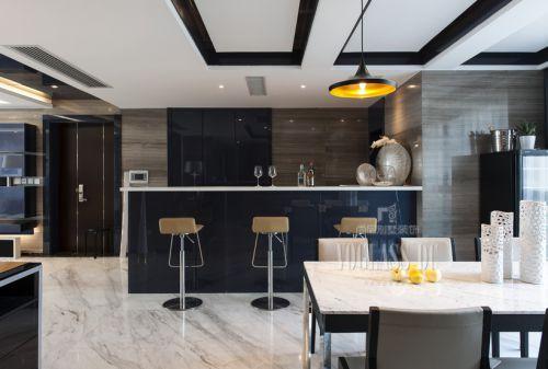 现代简约四居室厨房装修图片