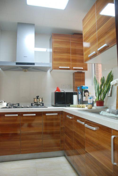 现代简约二居室厨房隔断装修效果图大全