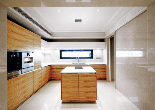 时尚现代简约风格厨房装修实景图