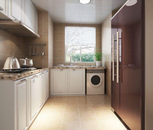 现代简约二居室厨房吊顶装修效果图