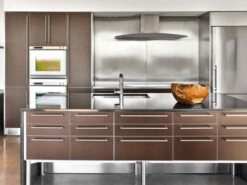 精致实用现代风格厨房橱柜装修图片