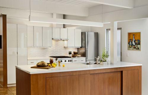 优雅咖啡色现代风格厨房装修设计