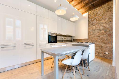 优雅现代轻工业风格厨房装修实景图