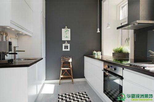 现代简约一居室厨房装修图片欣赏