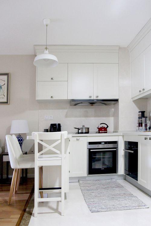 现代简约二居室厨房灯具装修效果图大全