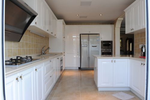 现代简欧六居室厨房装修效果图欣赏