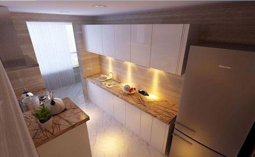 现代简约四居室厨房吊顶装修效果图大全