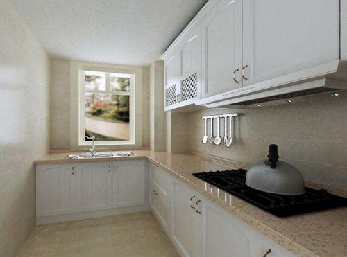 现代简约二居室厨房橱柜装修效果图欣赏