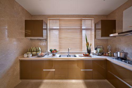 现代简约三居室厨房橱柜装修效果图大全