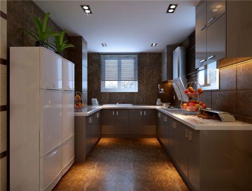 现代简约五居室厨房橱柜装修效果图