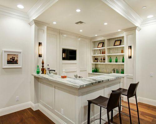 时尚典雅现代风格厨房装修实景图