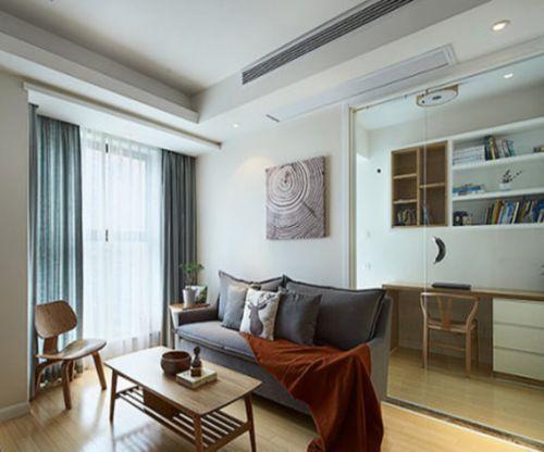 韩式风格二居室客厅沙发装修效果图