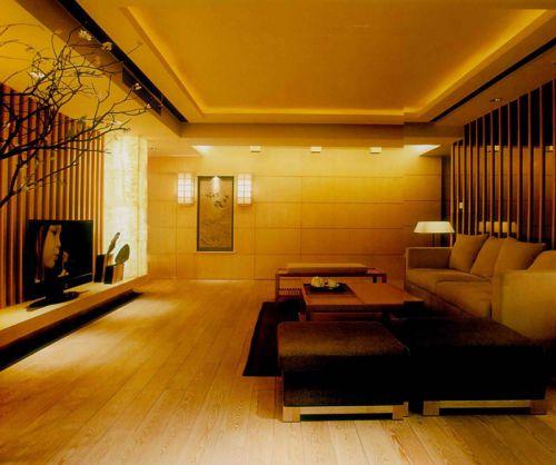 现代韩式风格客厅装修效果图