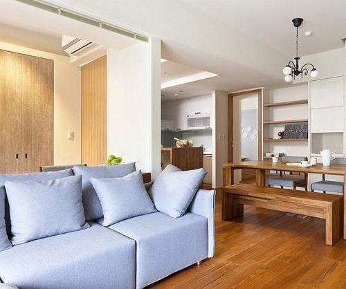 小巧温馨韩式风格客厅装修效果图