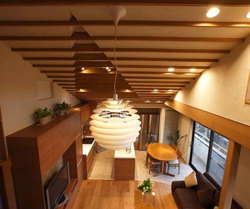 恢弘韩式风格客厅吊顶装修效果图