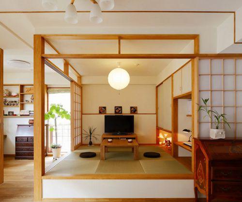和煦韩式风格客厅装修效果图