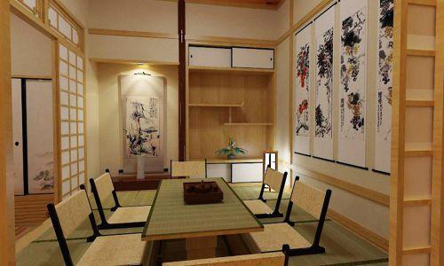 韩式风格三居室客厅榻榻米装修图片