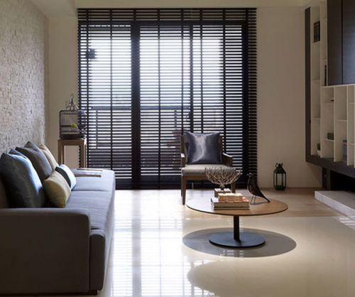 现代格调韩式风格客厅装修效果图