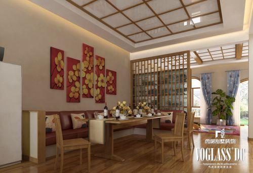韩式风格别墅客厅装修效果图欣赏