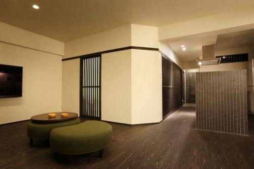 韩式风格三居室客厅装修效果图欣赏