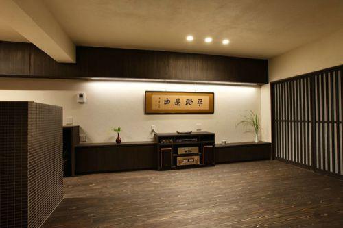 韩式风格三居室客厅装修图片