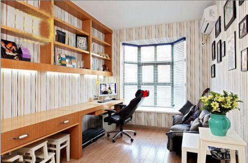 韩式风格二居室客厅背景墙装修效果图大全