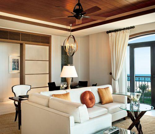 100平米韩式风格彩色客厅装修效果图