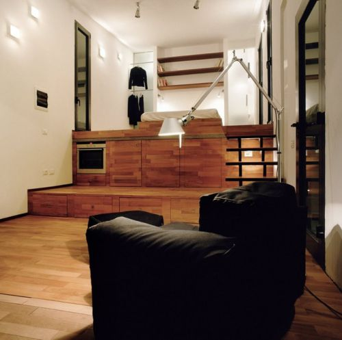 日式风格多功能客厅装修实景图