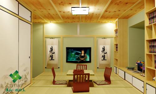 韩式风格三居室客厅榻榻米装修效果图大全