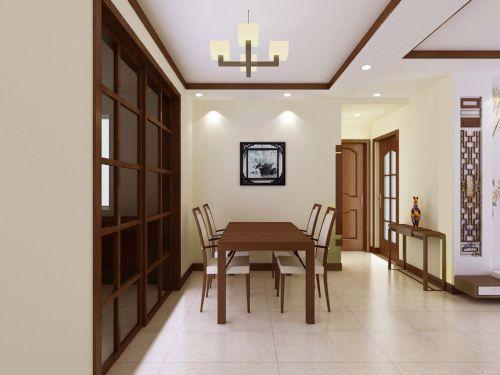 日式风格客厅50平方小户型装修图