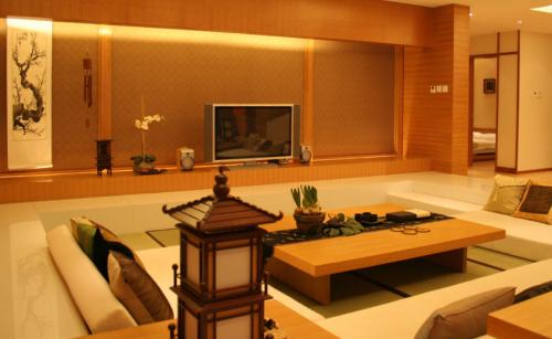 韩式风格三居室客厅装修效果图