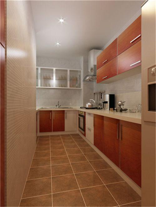 简欧风格三居室厨房灯具装修效果图大全