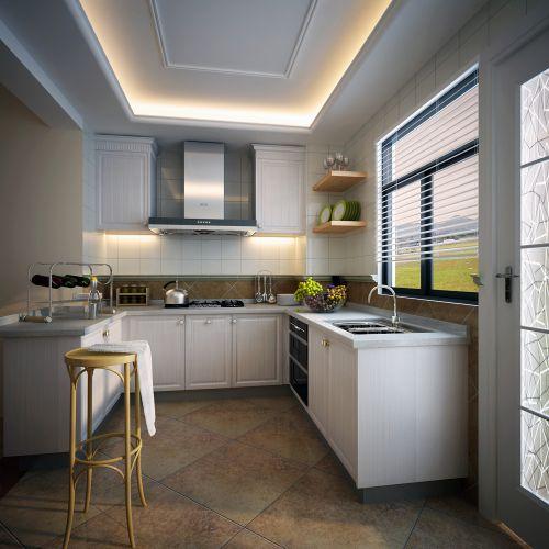 温馨浪漫现代简欧风格厨房装修效果图