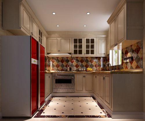 简欧风格四居室厨房装修效果图大全