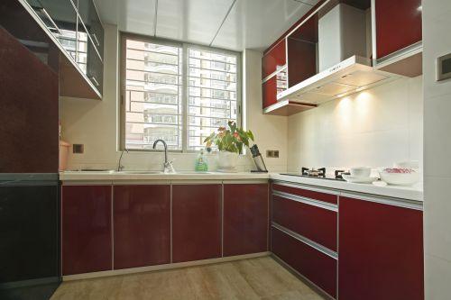 简欧风格四居室厨房橱柜装修效果图