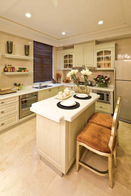 简欧风格四居室厨房灶台装修效果图大全