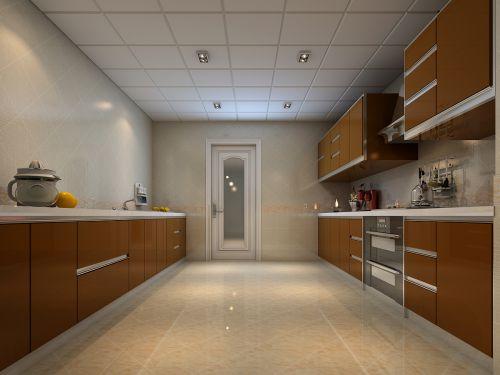 简欧风格别墅厨房装修效果图大全