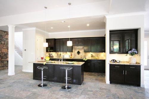 简欧典雅风格厨房设计装修效果图