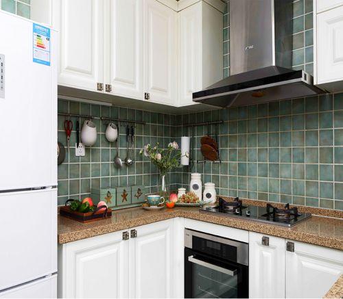 简欧风格五居室厨房灯具装修效果图大全