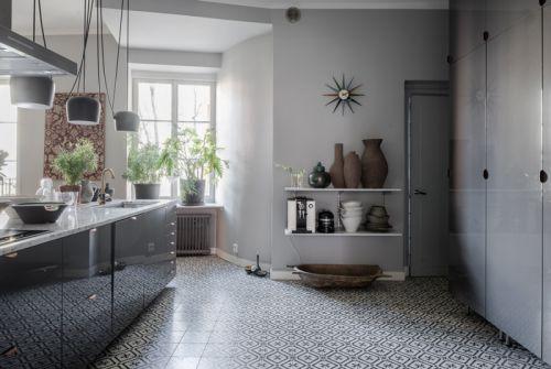 优雅简欧风格厨房装修实景图