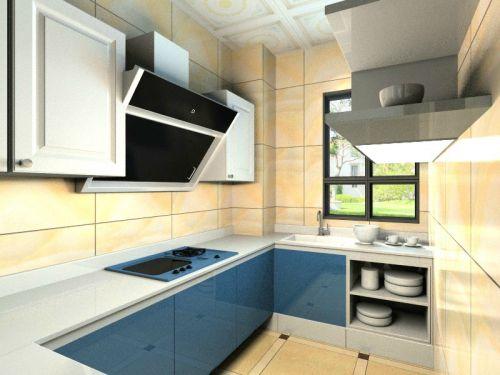 简欧风格四居室厨房橱柜装修效果图大全