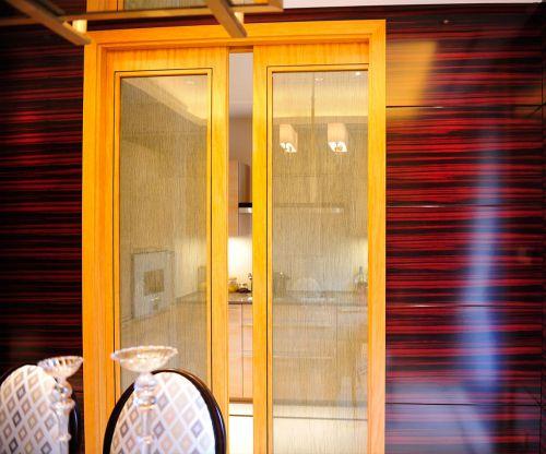 简欧风格四居室厨房瓷砖装修效果图