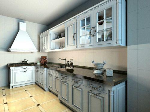 简欧风格四居室厨房灯具装修效果图大全