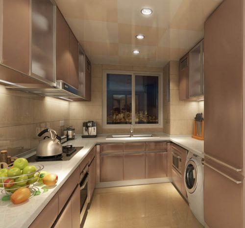 简欧风格五居室厨房楼梯装修效果图大全