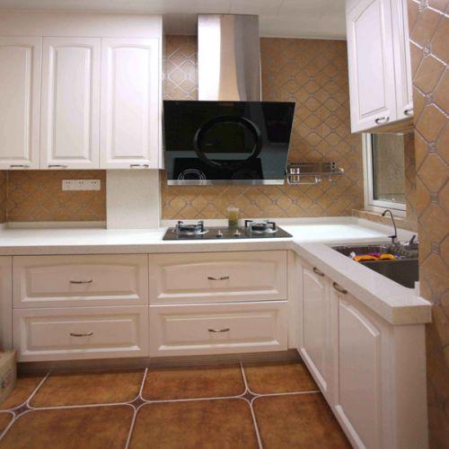 简欧风格二居室厨房装修图片